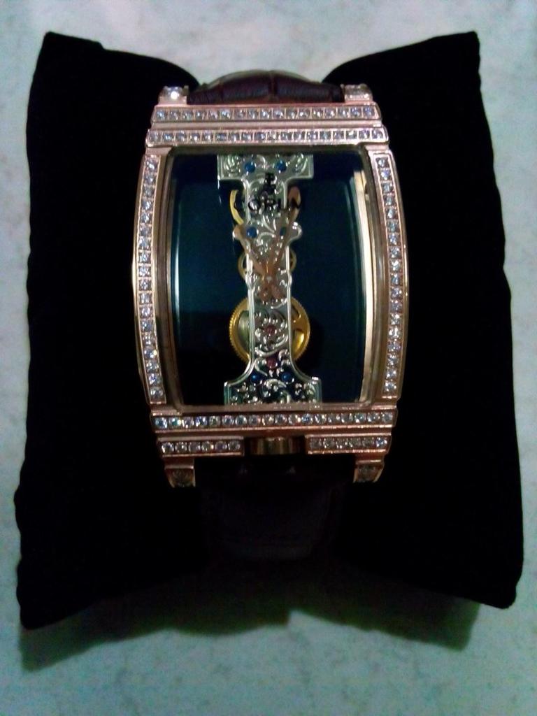 CORUM GOLDEN BRIDGE DIAMONDS ULTIMATE