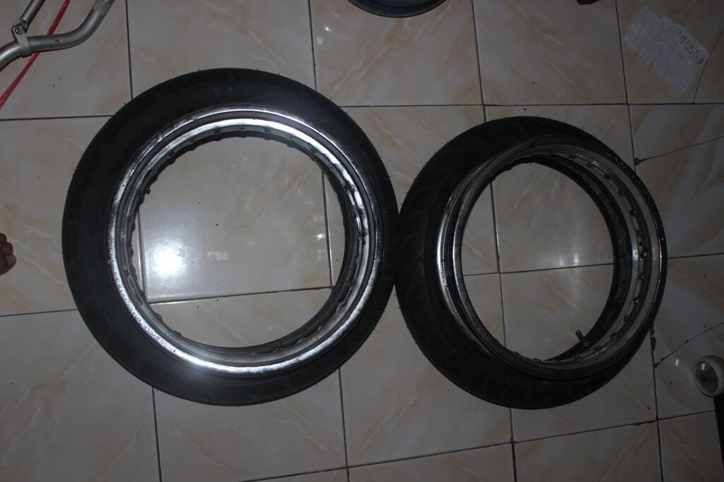 Limbah Kawasaki D'tracker ( BANDUNG )