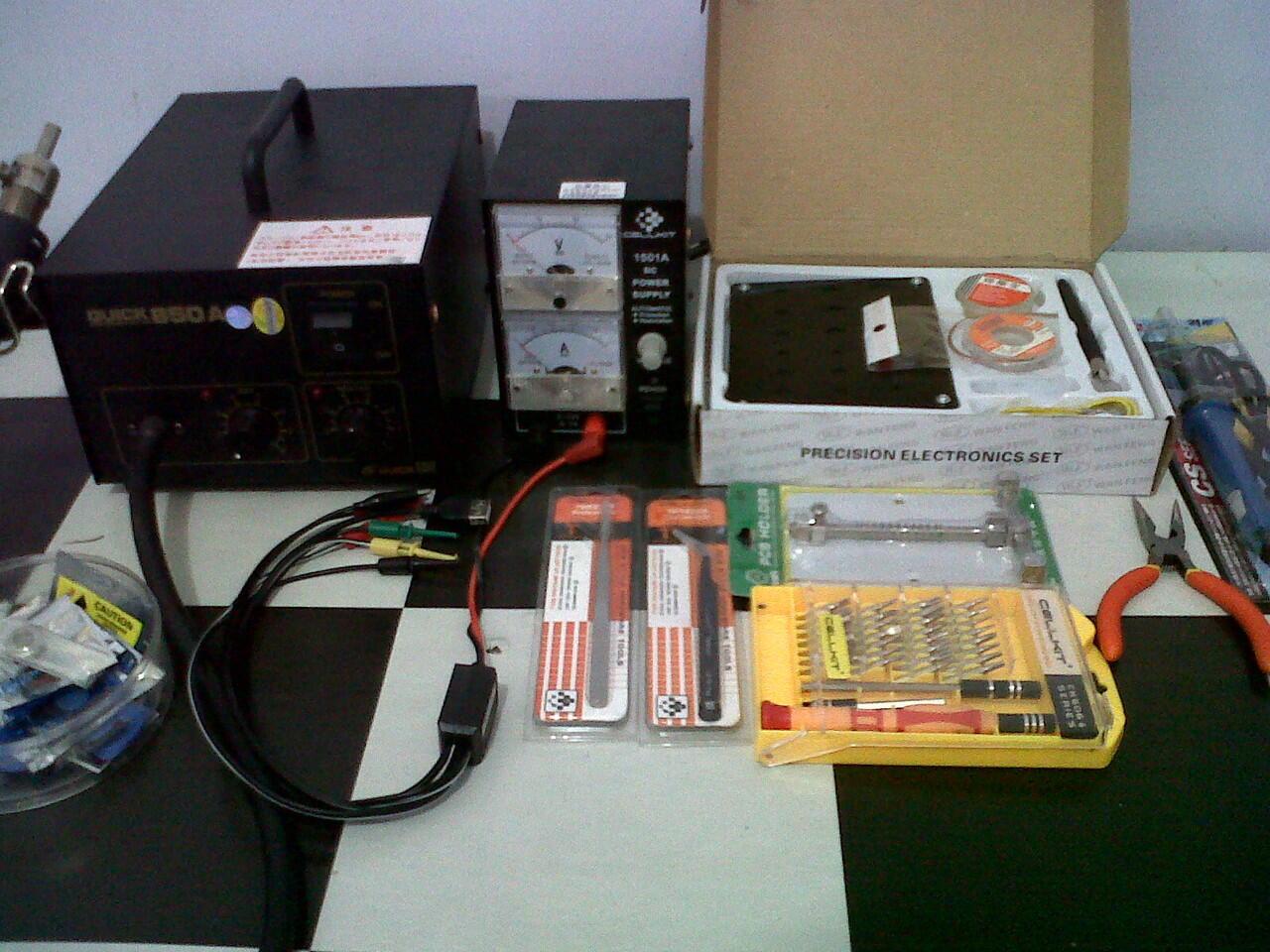 Peralatan servis hp Blower Quick 850A, Power Supply Dll