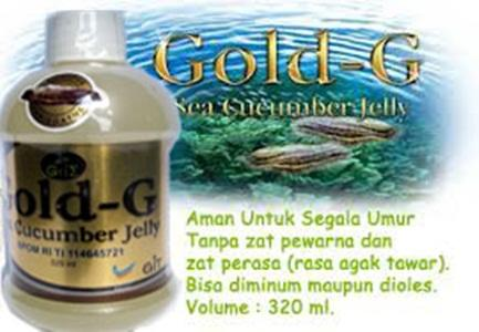 Jelly Gamat Gold G Obat Typus & Maag Murah