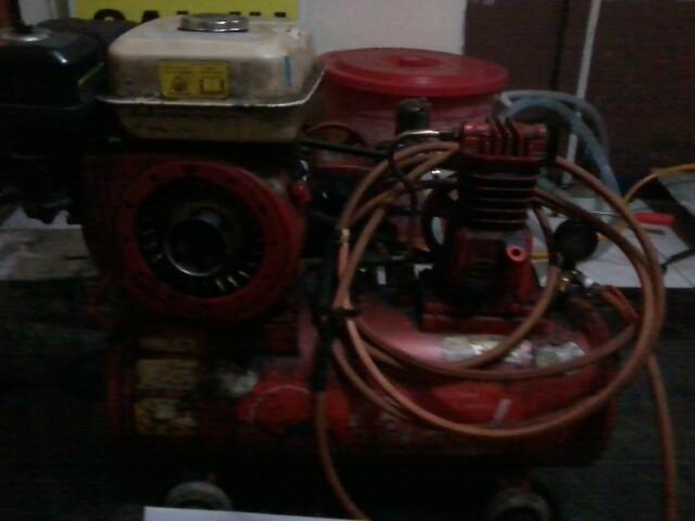 Terjual JUAL Paket Mesin Cuci Motor Pompa Steam
