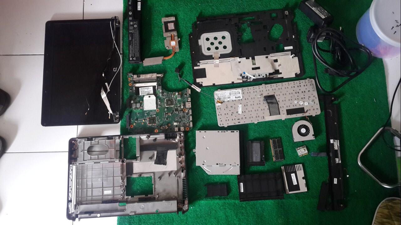 pretelan laptop compaq515