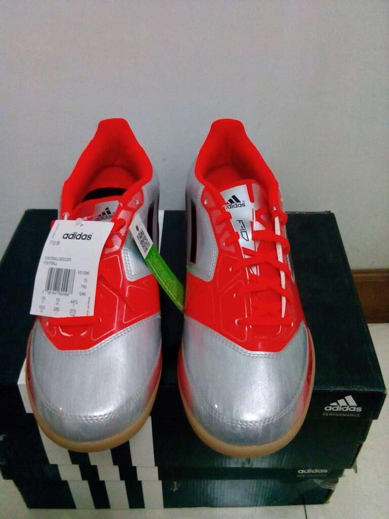 [BOOM SALE]Sepatu Futsal Adidas F10,Original,BNIB,--HARGA JEBRET--