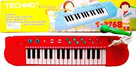 Piano Karoke Anak-Plus MIC Bagus untuk Belajar Nyanyi Anak sambil Karoke