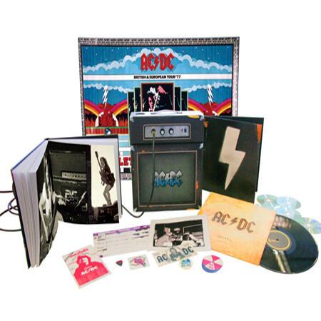 ZIPPO The Stroke, AC/DC Backtracks Collector's Box Set,