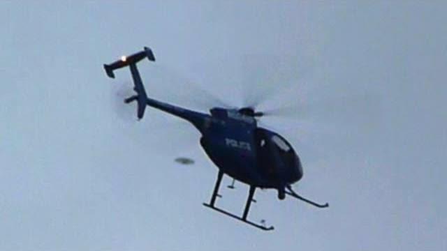 [VIDEO] UFO melewati Helicopter di HAWAII!