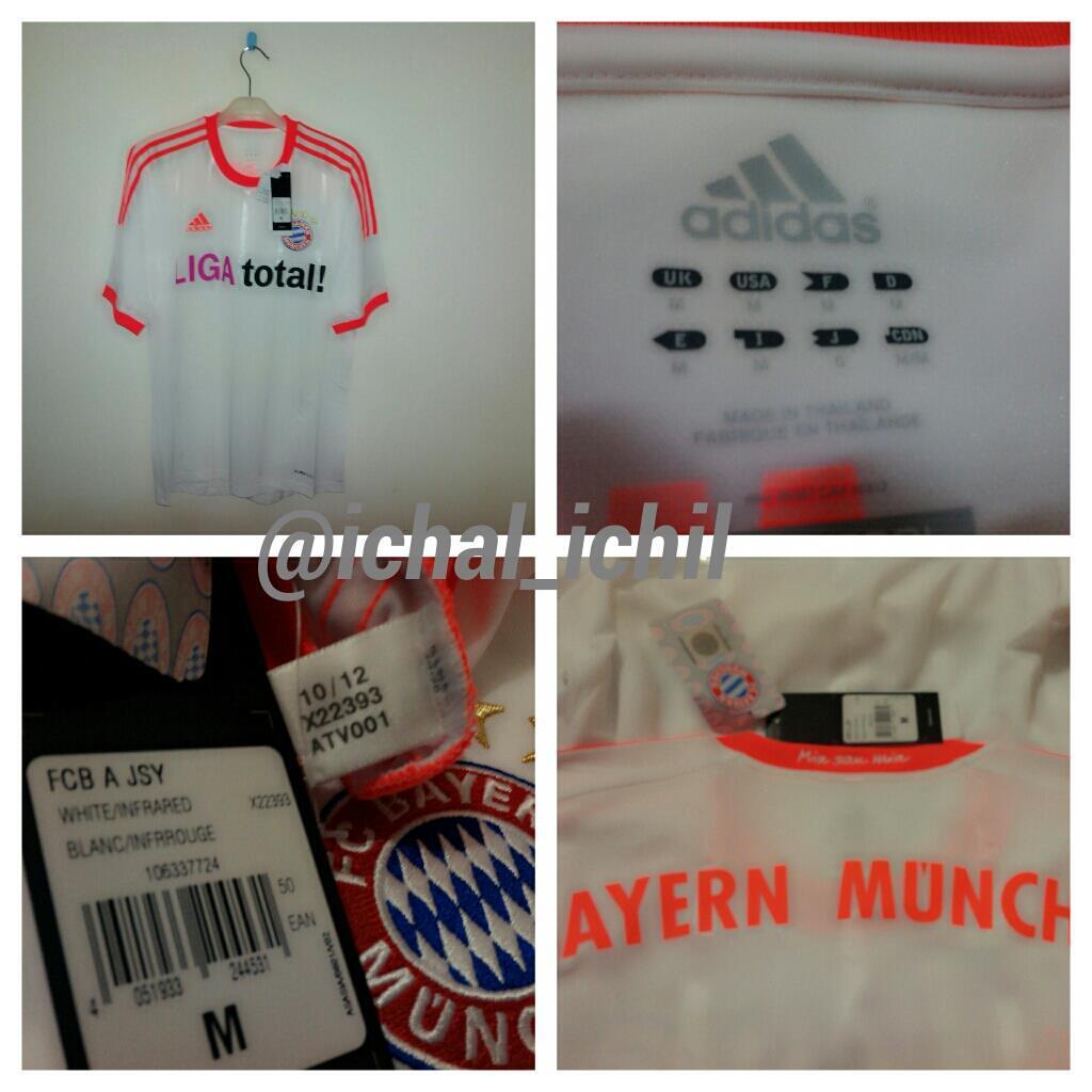 [LELANG] PART24 Jersey Original Munchen, Milan, Germany, Ajax, Chelsea