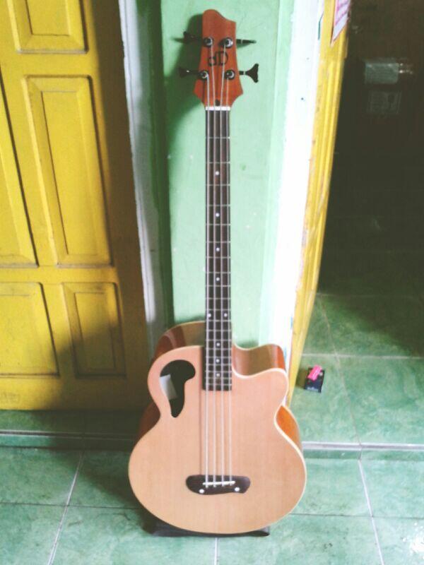 Alat Musik Akustik Cajon, Gitar, Bass, Murah Kualitas Oke Jogja/Yogya