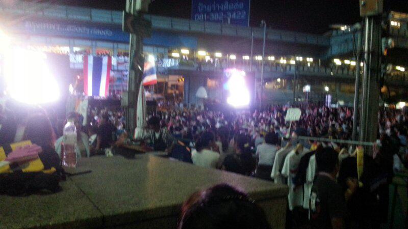 Foto Demo di Bangkok Thailand (Bangkok Shutdown)