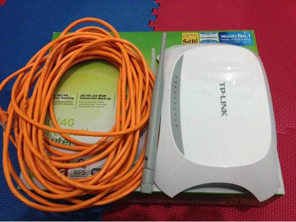 JUAL TP-LINK WIRELESS ROUTER