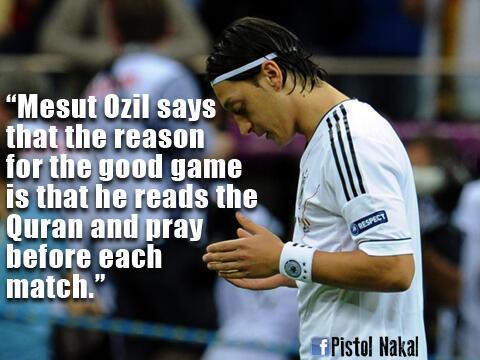 Pesan Selamat Maulid Nabi dari Mesut Ozil