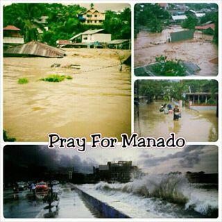 BANJIR DI MANADO {PRAY FOR MANADO}