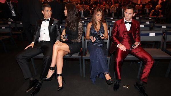 3 Momen Canggung Pada Saat Pergelaran Acara Ballon d'Or 2013