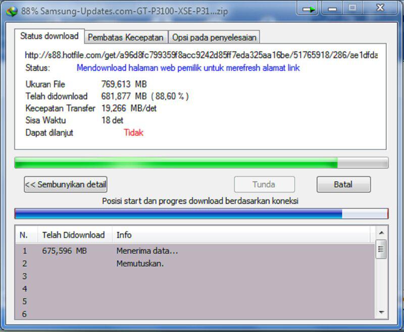 Apakah Kecepatan Download Agan Secepat Ini?