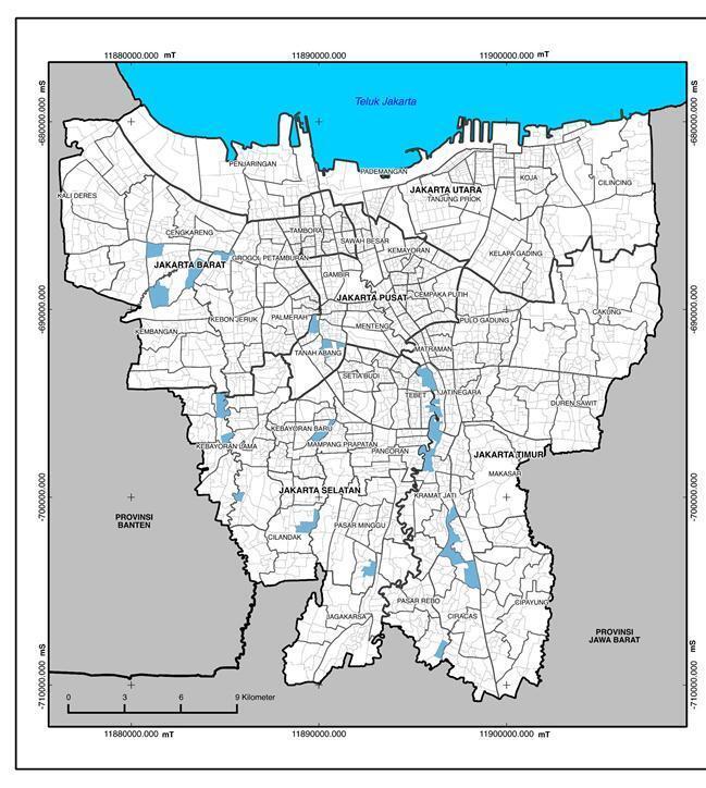 Perbandingan Banjir Jakarta di Januari 2013 dengan Januari 2014