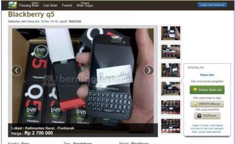 Hati-hati Gan!! Toko Online abal-abal di twitter dan BBM