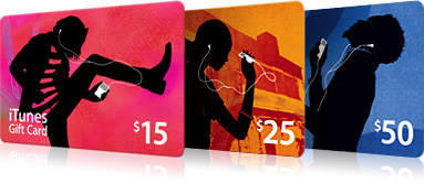 iTunes Gift Card (IGC) for iPhone/iPod/iPad/Mac, install Games-aplikasi ori