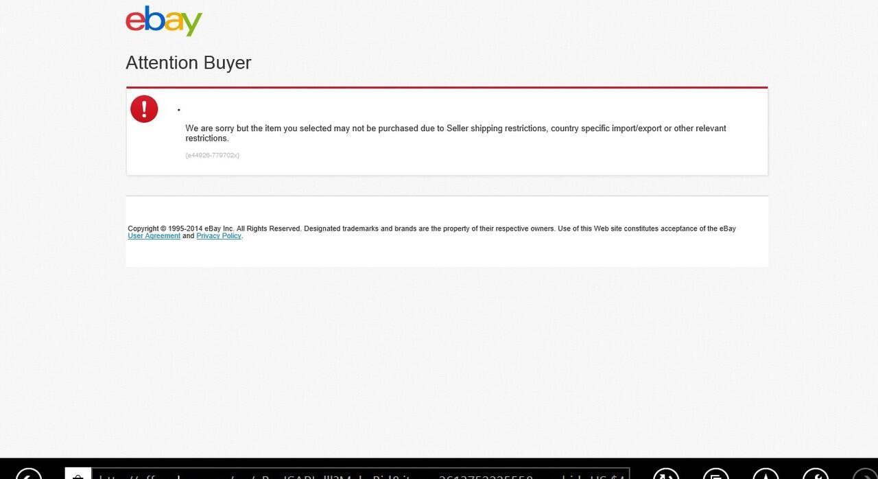 (ASK) Pengalaman bidding di eBay