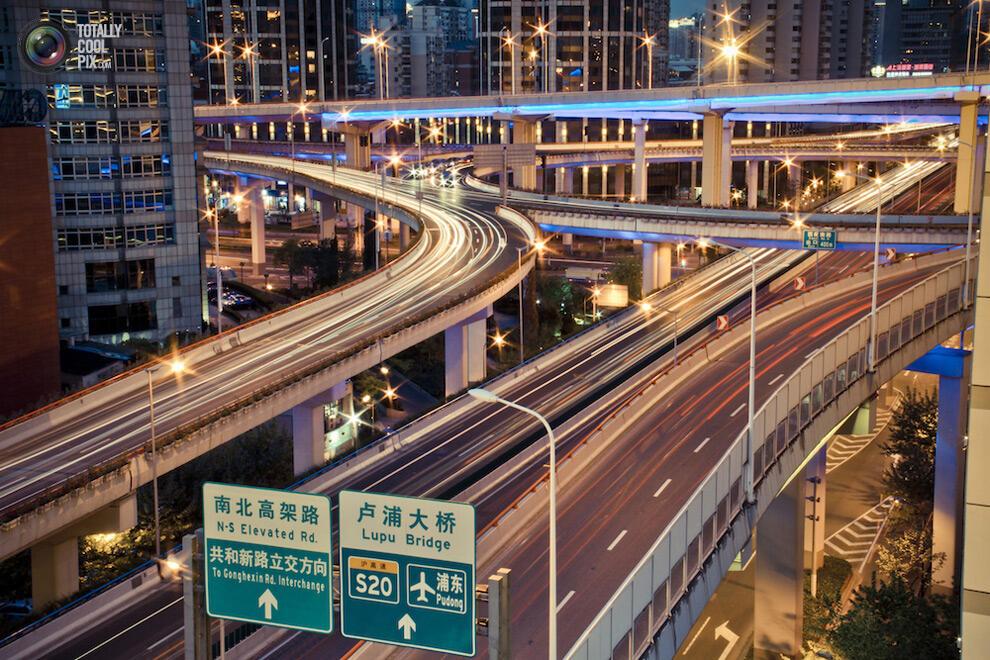 """ Kota Shanghai "" dibawah bidikan seorang Fotographer !"