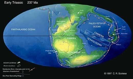 Ini Dia Bumi Yang Sebenarnya -+300 Juta Tahun Lalu