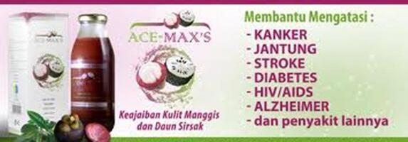 Ace Maxs Original & Madu Xanthone Plus Propolis Murah