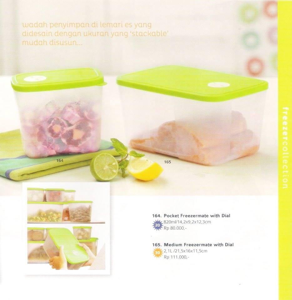 Terjual Tupperware Reguler Big Sale All Item Discount 27 30 Murah Pocket Freezermate With Dial Bgtttt
