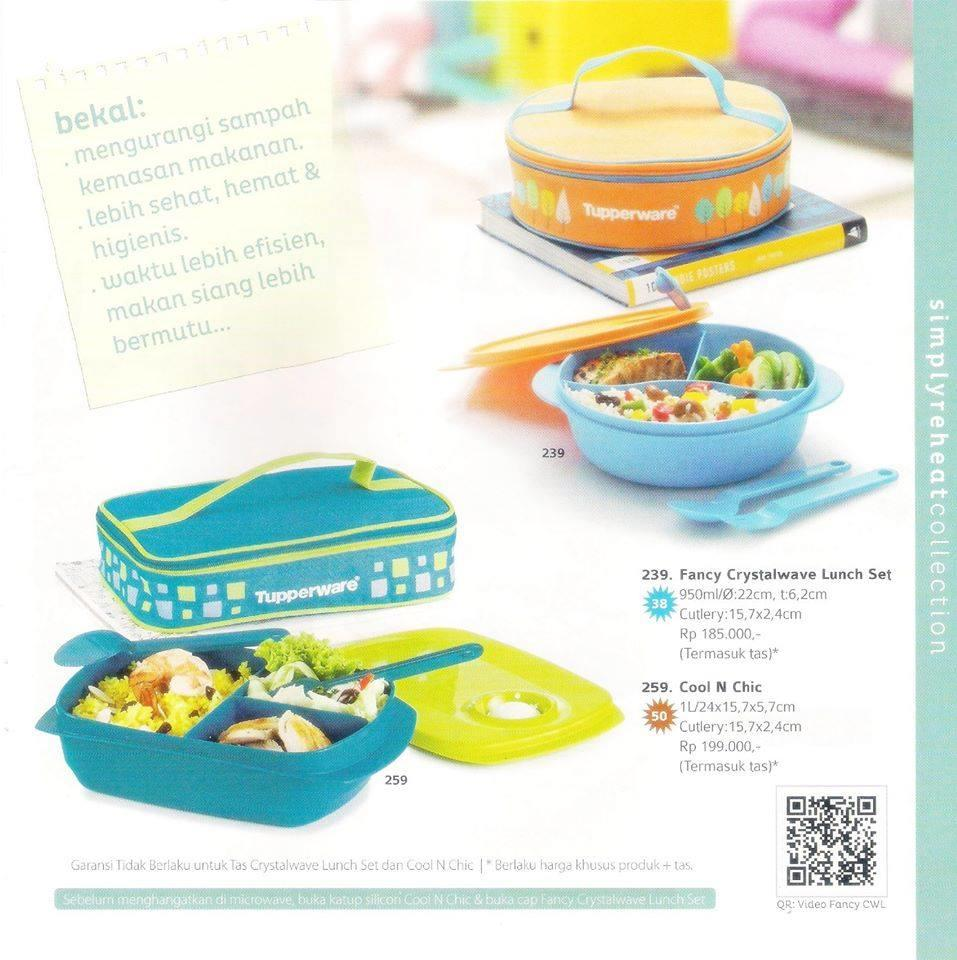 Fancy Crystalwave Lunch Set Kotak Bekal Tupperware. Source · TUPPERWARE REGULER BIG SALE ALL ITEM DISCOUNT 27%-30% Murah Bgtttt