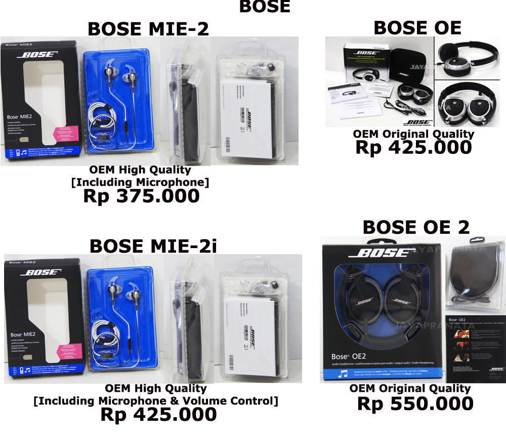 HEADSET,HEADPHONE,EARPHONE-BOSE,MONSTER,SENNHEISER DLL,PORTABLE CHARGER POWERBANK/PB