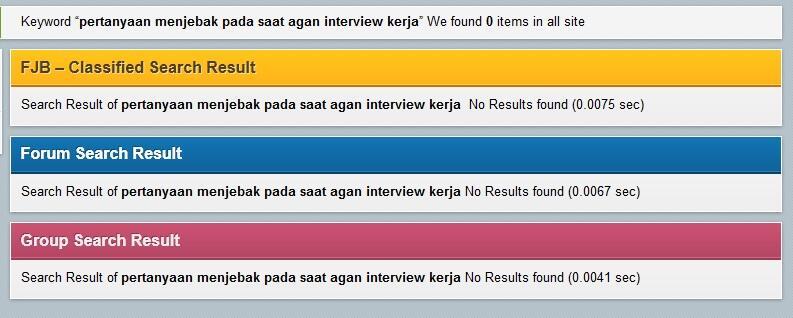 Pertanyaan Menjebak Pada Saat Agan Interview Kerja