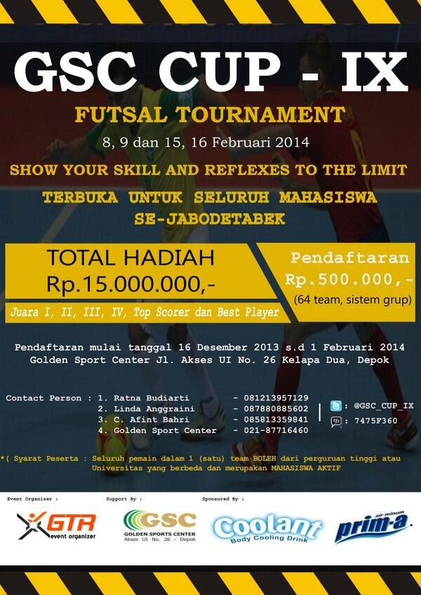 GSC CUP 2014