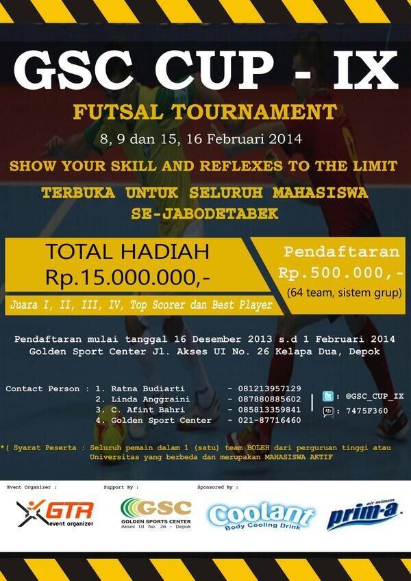 GSC CUP IX 2014