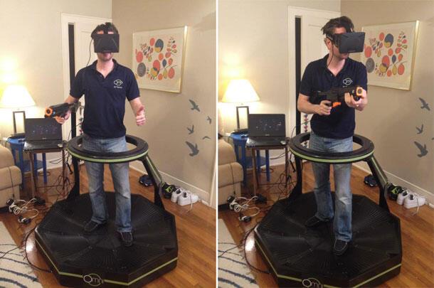 oculus rift: jika kita berada di dalam game horror