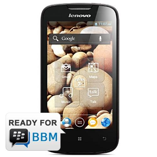 Lenovo A690 - Black | MTK 6575 1 GHz processor, Android 2.3 Ging