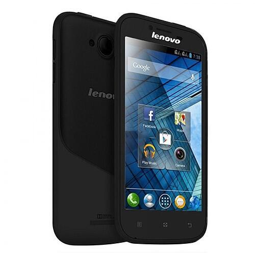 Lenovo A706 - Black | Quad-Core Qualcomm MSM 8225Q 1.2 GHz, Andr