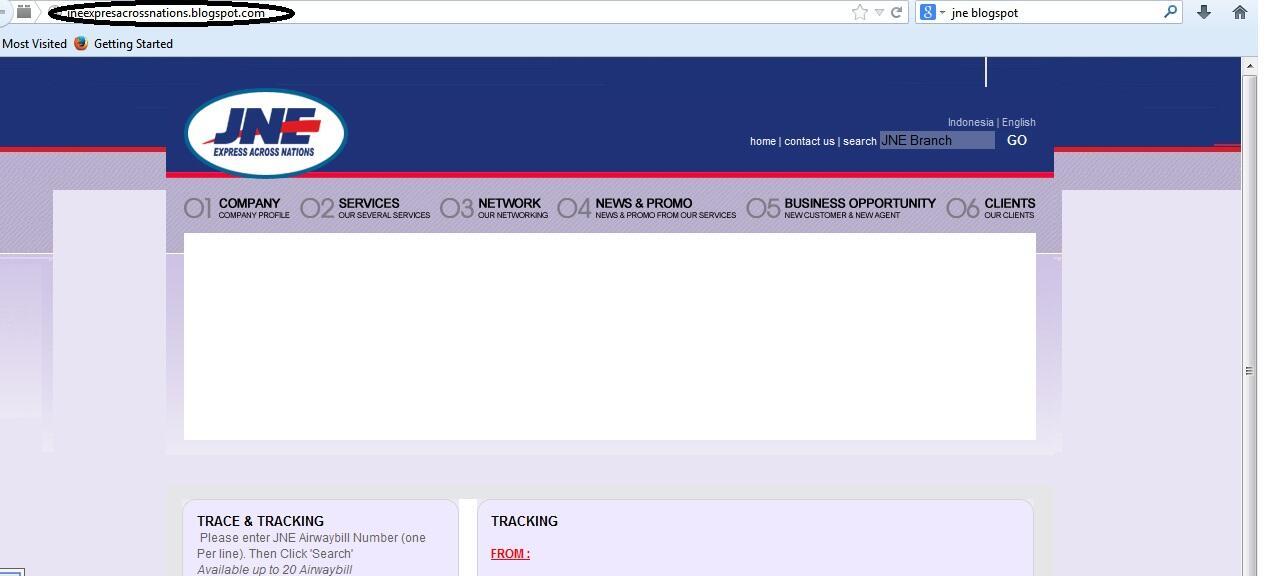 Pengetahuan Buat Buyer.. Jasa Pengiriman JN* yg dipalsukan situsnya
