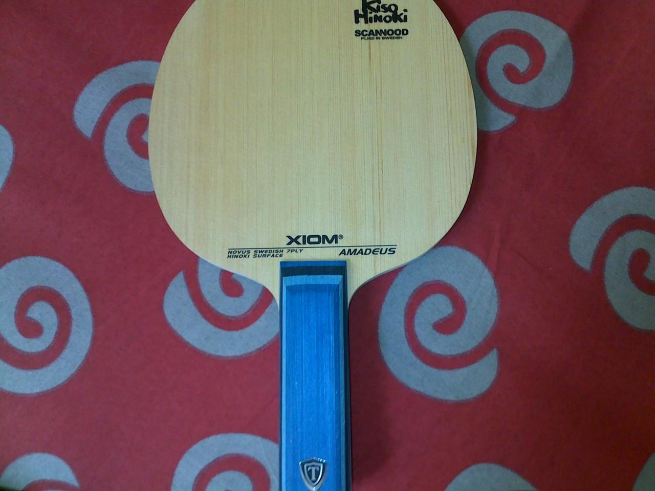 jual bet tenis meja xiom amadeus st 2nd like new