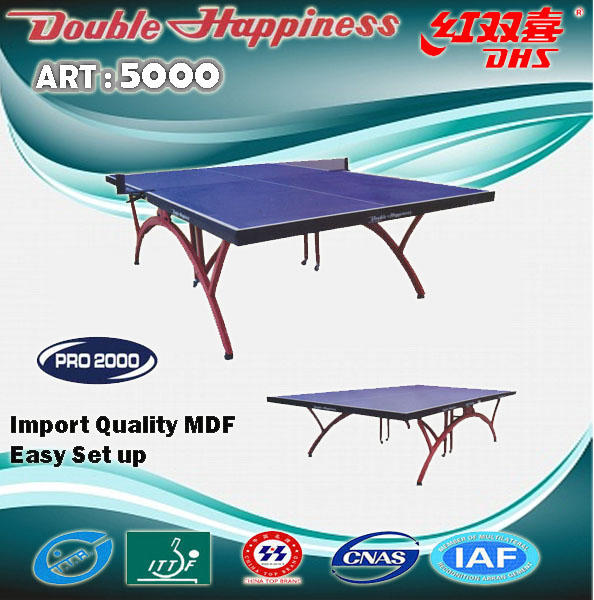 TENIS MEJA ( DHS ) DOUBLE HAPPINESS ART 5000