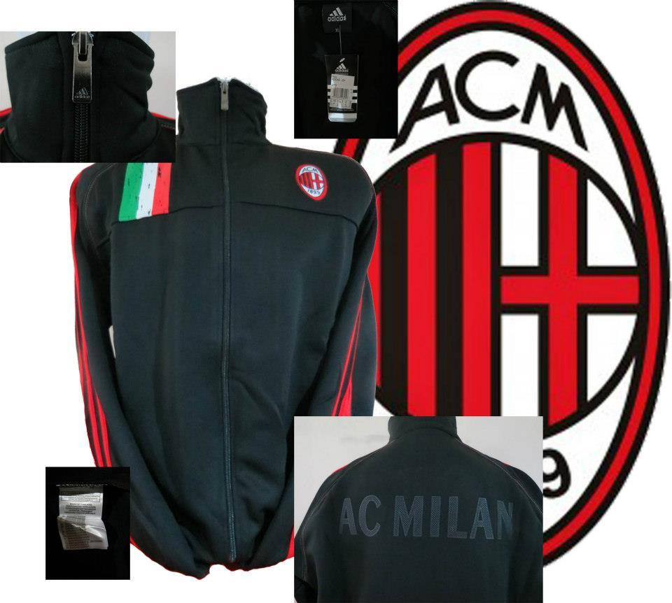 JAKET GO AC MILAN NEW OFFICIAL COLLECTION