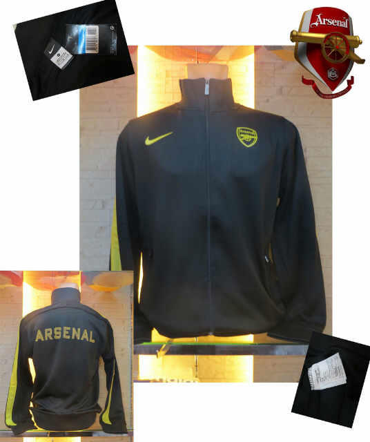 JAKET GO ARSENAL NEW OFFICIAL COLLECTION