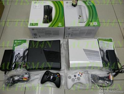 Xbox 360 Slim 250gb, Flash LT+ 1.9, DB 2.0.13599.0, Gem Bajakan terbaru LJ+Bonuzz!