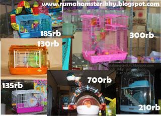 Accesorries Perlengkapan Hamster Lengkap harga dijamin murah