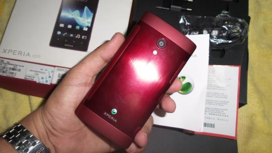 Sony Experia ION black maroon Mulus fullset cod Bogor only harga 3jt nett