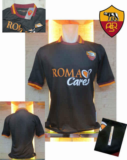 JERSEY GO AS ROMA HOME-AWAY NEW OFFICIAL,,,, FORZA ROMA GAN??