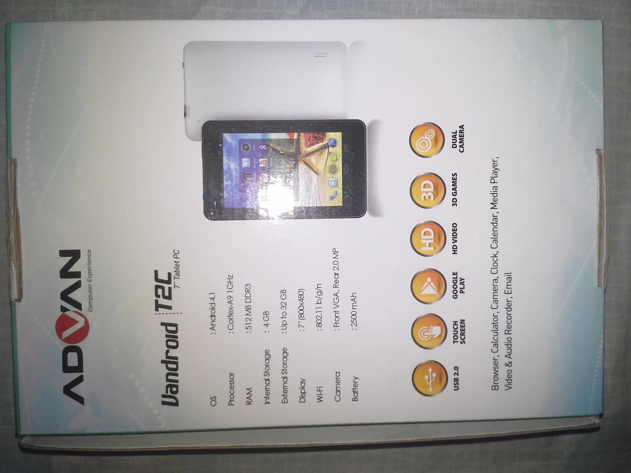 TABLET ADVAN T2C NEW 650K