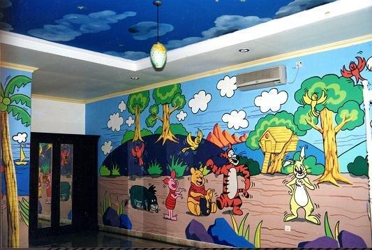 Cari lukis dinding mural kaskus for Mural untuk kanak kanak