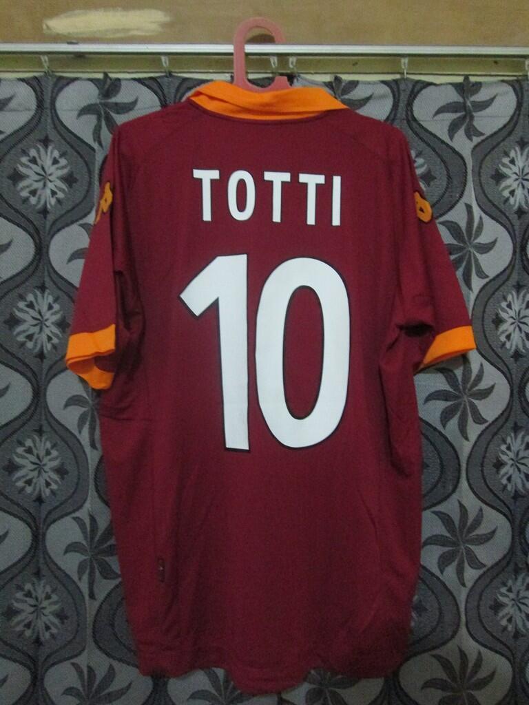 Barter Rare Item AS Roma Home 12/13 TOTTI ke Away 12/13