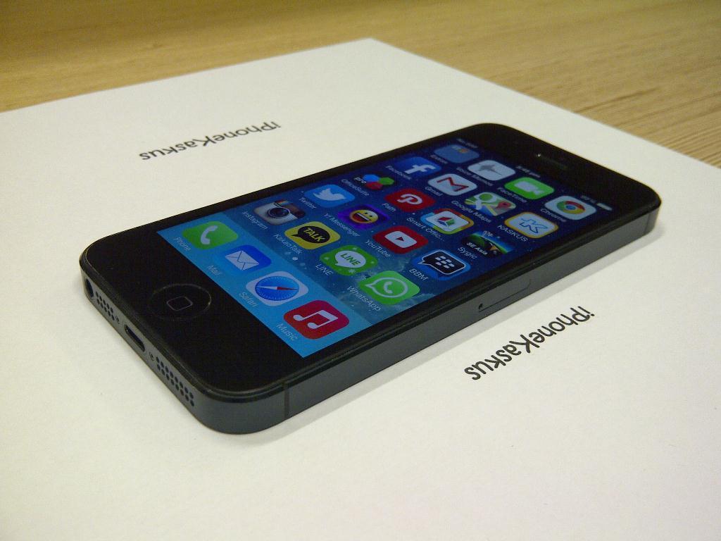 ★2nd iPhone 5 Black 32gb FU mulus maknyuss, iOS 7.0.4 Full App Premium [Semarang]★