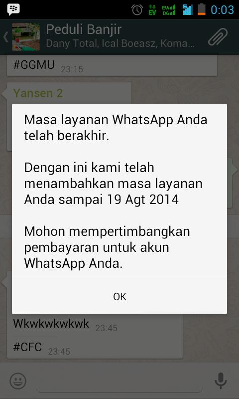 ask: cara krack whatsapp android gmn?