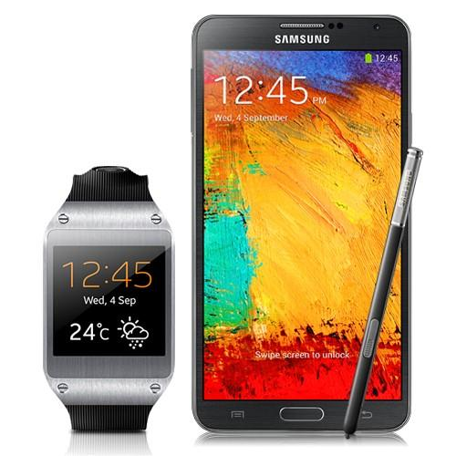 Samsung Galaxy Note 3 - 32GB Black + Samsung Gear - Black