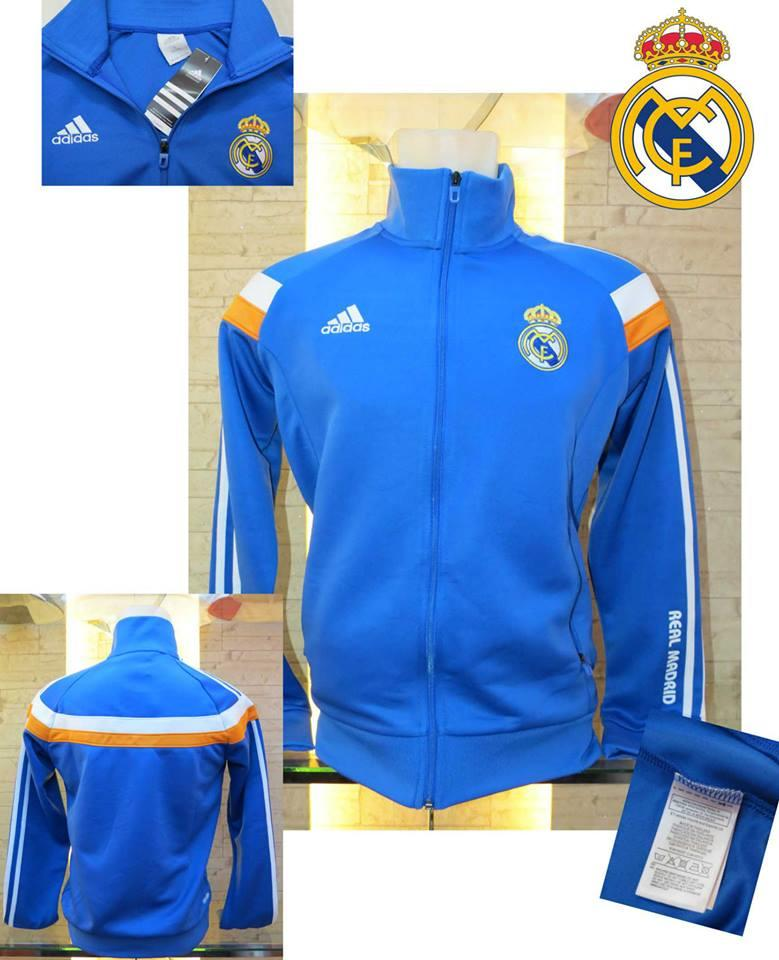 JAKET GO REAL MADRID BLUE NEW